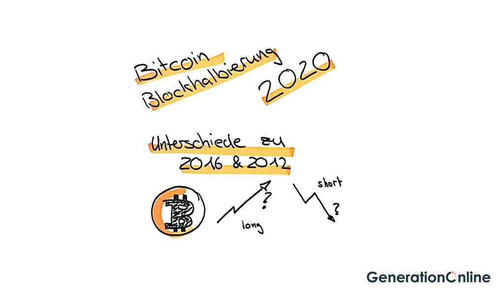 Bitcoin Blockhalbierung 2020