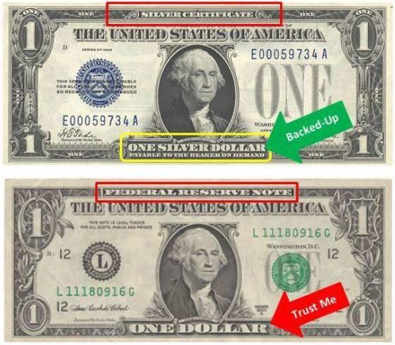 Absetzung Goldstandard