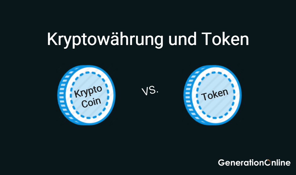 Unterschiede von Kryptowährungen Coins und Token