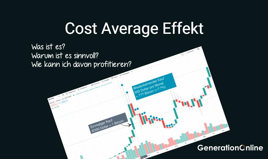 Cost Average Effekt